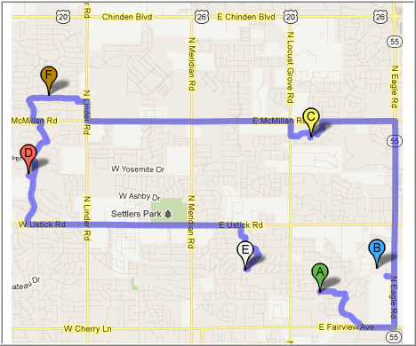 Get fastest route possible with Zeo Route Planner